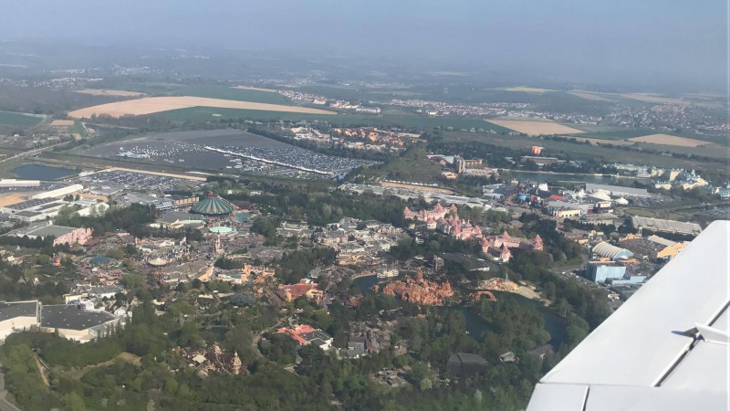 Disneyland® Paris vista dall'alto 116559