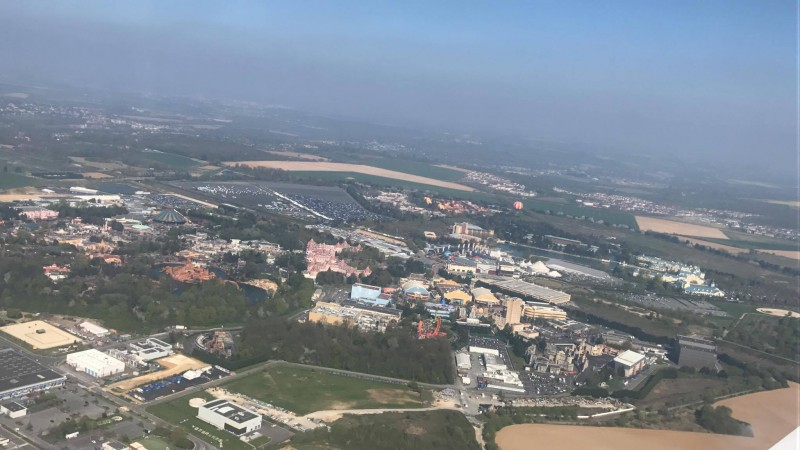 Disneyland® Paris vista dall'alto 116560