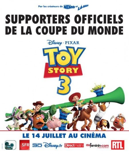 Disney supporter de la coupe du monde 2010 - Penalty coupe du monde 2010 ...
